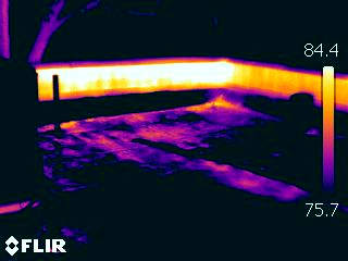 Using Infrared Thermography to Discover Roof Leaks