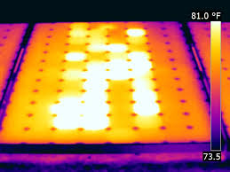Using Infrared Thermography to Evaluate Solar Panel Integrity