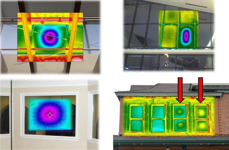 Using Infrared Thermography To Discover Window Failures
